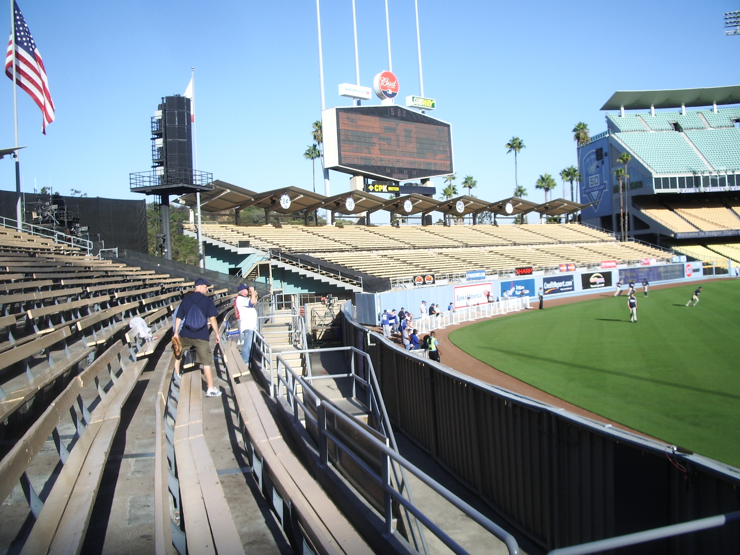 9208 At Dodger Stadium Blogging Bout Baseball