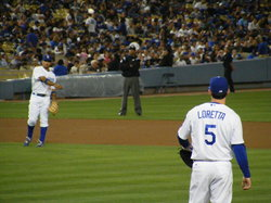 dodger warmup toss.JPG