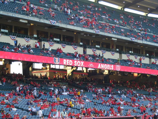 banner red sox vs angels.JPG