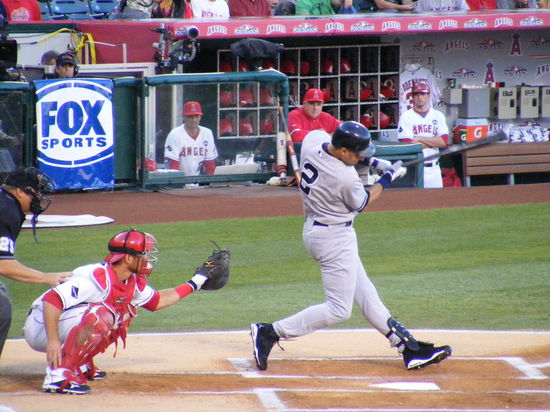 jeter singles on first pitch.JPG
