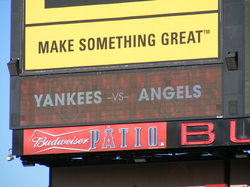 yankees vs angels sign.JPG
