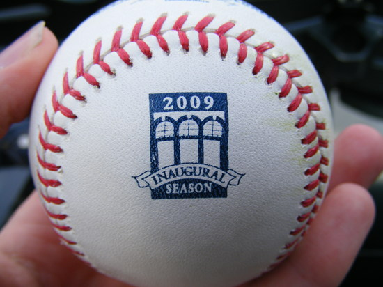 citi field commemorative ball.JPG