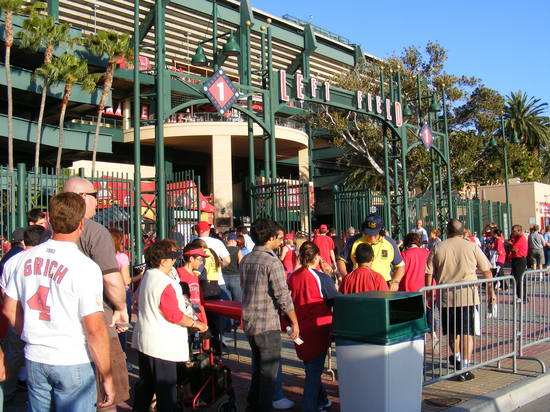 7.1 crowd at left field gate.JPG