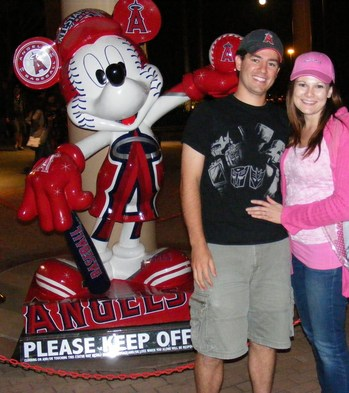 matt and michelle with angels mickey.JPG
