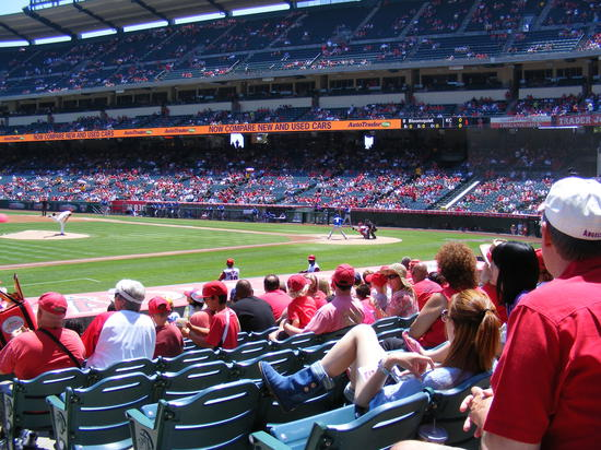 seat for first inning 8.11.JPG